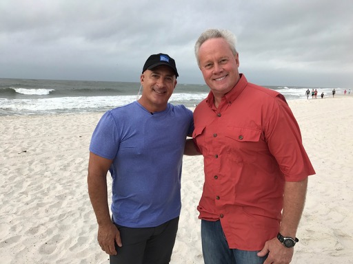 danny joins jim cantore for  u0026quot hurricane nate u0026quot  coverage